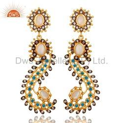 CZ Gemstone Fashion Earrings