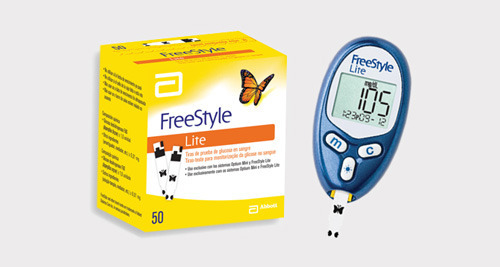 What are calibration instructions for a glucose meter?