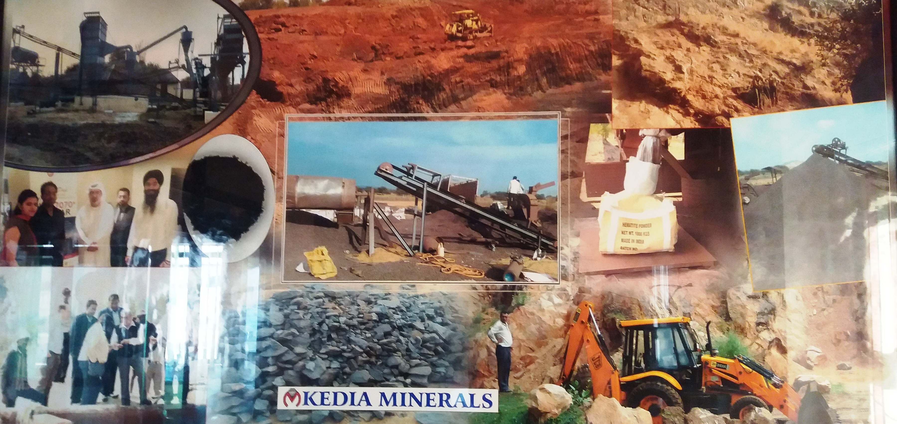 Kedia Minerals(Heavy Density Hematite Iron Ore Mine Owner)