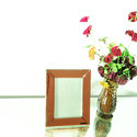 Red Mirror Photo Frame
