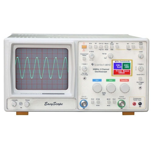 30MHz Digital Readout Oscilloscope with Component Tester