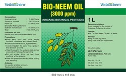 Bio - Neem Oil ( 3000 PPM )
