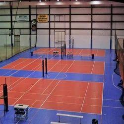 Volleyball Court Construction - Volleyball Court Flooring ...