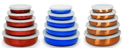 Colors Storage Bowl Set