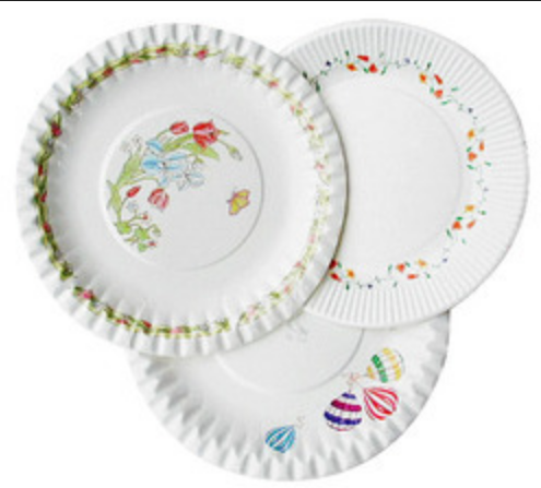Printed Paper Plates  sc 1 st  IndiaMART : personalised paper plates - pezcame.com