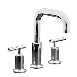 Purist Deck Wall Mount Lavatory Faucet