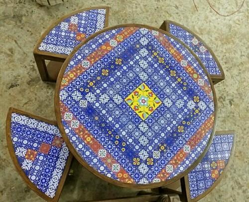 Handicrafts Center Table Manufacturer From Jodhpur