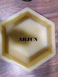Rubber PVC Hexagon Paver Mould