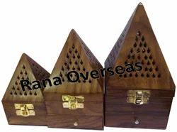 Wooden Charcoal Burners