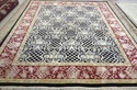 Handknotted Silk & Wool Rug