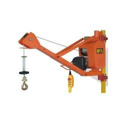scaffold adjustable arm hoist