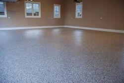Monolithic Aqua Epoxy Flooring