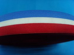 Colour Flat Knitted Elastic
