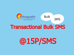 Transactional Bulk SMS (25000 SMS Package)