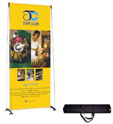 Maxefx Foldable Banner Stand 3378 Flex