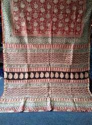 Bagru Print Silk Sarees