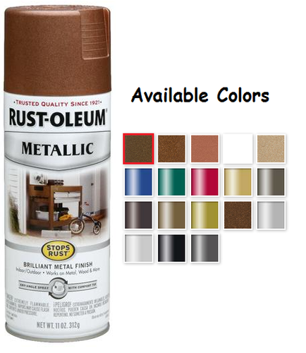 Spray Paint Colors For Metal Home Painting