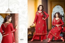 Red Wedding Salwar Suit