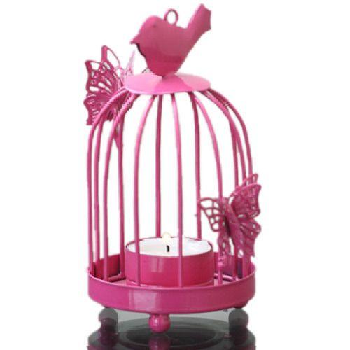 Birdcage Candle Light Holder
