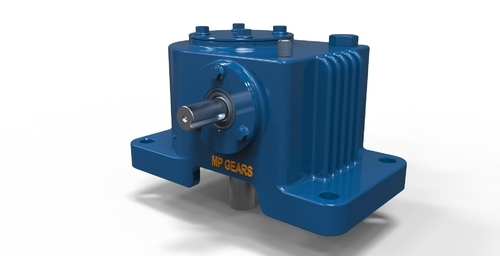 Downward Shaft Vertical Worm Reduction Gearbox