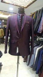 Mens Party Wear Three Pcs Suit