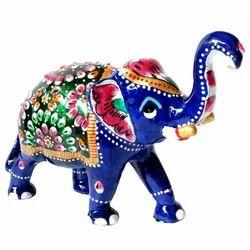 Meena Elephant Statue