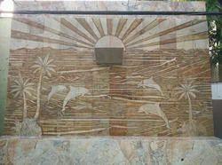 Slate Stone Mural