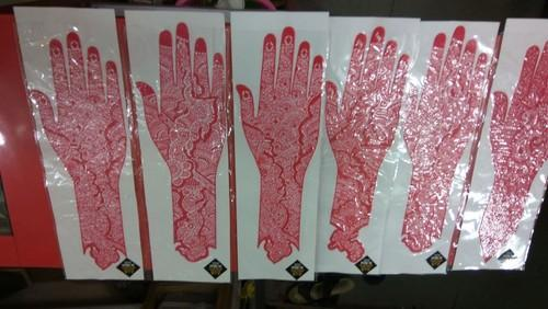 Mehendi Designs Henna Stencil Wholesale Trader From Mumbai