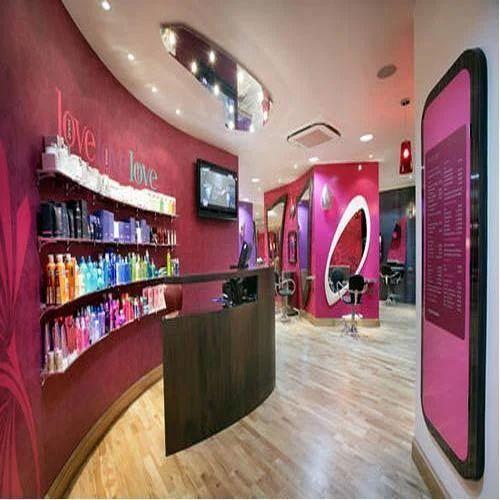 Salon Interior Designing Showroom Interior Designing