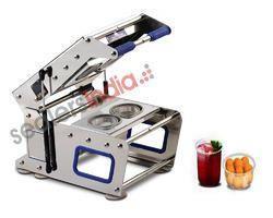 Twin Cup Sealing Machine