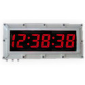 Flame Proof Synchronized Digital Clock