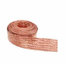 Flat Copper Braided  Strip