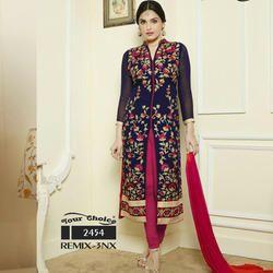 Cotton Chanderi Suit