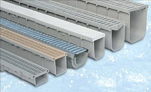 Surface Drainage Channels Pvc Amp Pp Drain Channel