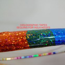 Holographic Colour Metalised Tapes For Hula Hoops