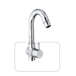 Copper Swan Neck Bathroom Tap