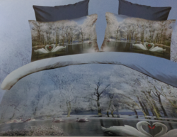 3D Bed Sheet Pair