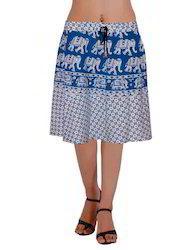 Elephant Short Skirt