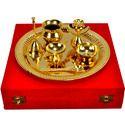 Gold Pooja Thali