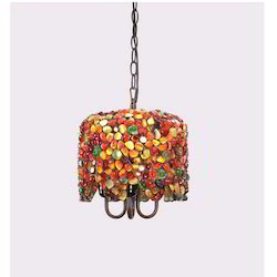 Tiffany Gemstone Reves Pendant Lamp