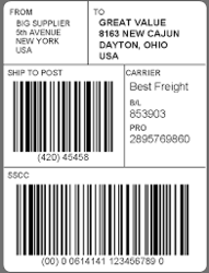 Logistics Labels