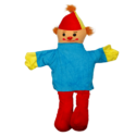 Clown Glove Puppet