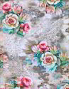 Rose Flower Cotton Fabrics