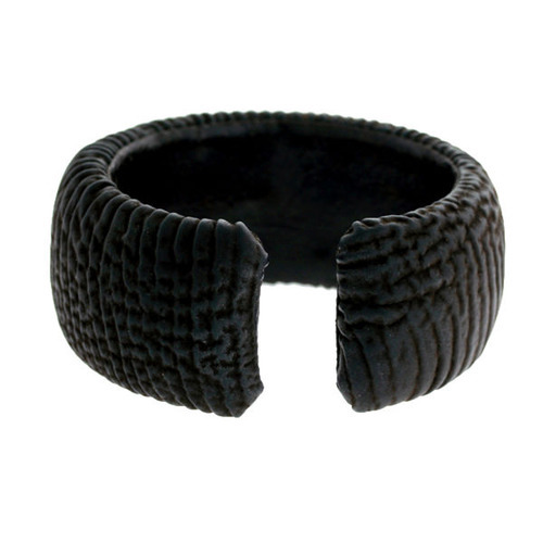 Pave Diamond Leather Bangles