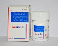 Natdac 60mg Tablets