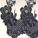 Embroidered Beaded Lace