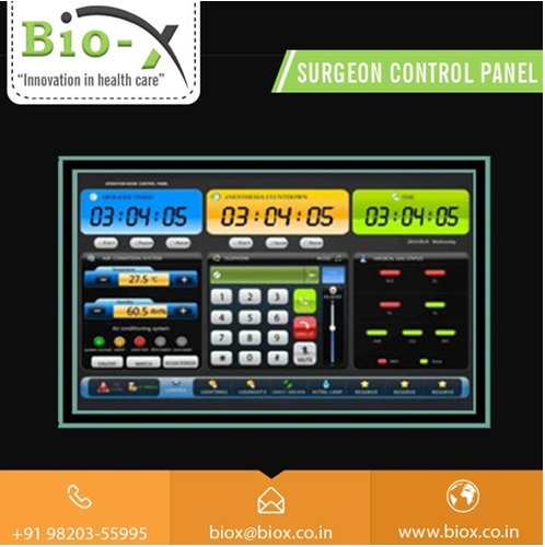 Surgeon Control Panel for Medical Console