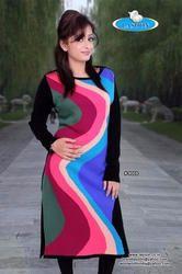 Multicolour Woolen Kurtis