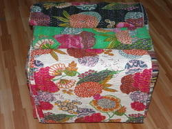 Vintage Bedding Throw Quilt