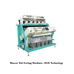 Masoor Dal Sorting Machines -RGB Technology